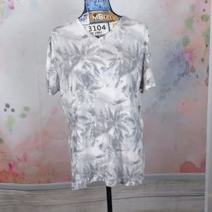 Sol Angeles tee gray and white large